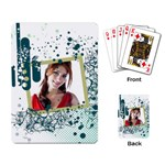 Pattern card - Playing Cards Single Design