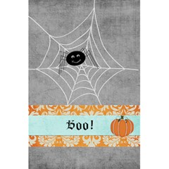 Halloween Notebook By Sheena   5 5  X 8 5  Notebook   8hmqk8gpvmf2   Www Artscow Com Back Cover Inside