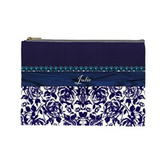 Julie Cosmetic Bag By Florence Yeung   Cosmetic Bag (large)   Gi49ig4ecyg0   Www Artscow Com Front