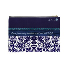 Julie Cosmetic Bag By Florence Yeung   Cosmetic Bag (large)   Gi49ig4ecyg0   Www Artscow Com Back