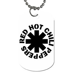 Rhcp 2 By Alyssa   Dog Tag (two Sides)   R0mcd7802urj   Www Artscow Com Front