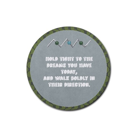 Simple Simon Dreams Poem Round Coaster By Bitsoscrap   Rubber Round Coaster (4 Pack)   2yfbznbhw7ex   Www Artscow Com Front