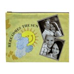 Here comes the Sun XL Cosmetic Bag - Cosmetic Bag (XL)