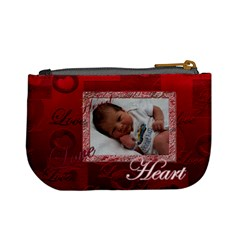 Heart You3 Coin Purse By Ellan   Mini Coin Purse   8bdmod3p5c4m   Www Artscow Com Back