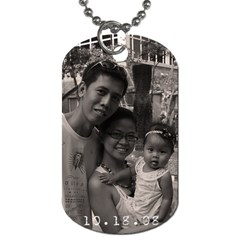 Castillo By Mayumi   Dog Tag (two Sides)   Xn15gl5td76s   Www Artscow Com Front