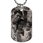 Castillo HEART - Dog Tag (Two Sides)
