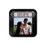 Hope Coaster - Rubber Coaster (Square)