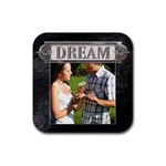 Dream Coaster - Rubber Coaster (Square)