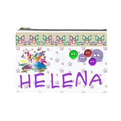 Bolsa Helena By Lydia   Cosmetic Bag (large)   5otzq7kq1td0   Www Artscow Com Front