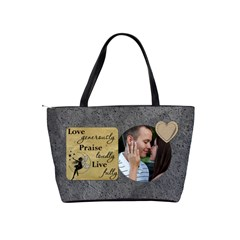 Inspiration Shoulder Handbag #2 By Lil    Classic Shoulder Handbag   Z9tmclqrwns5   Www Artscow Com Back