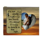 Dance in the Rain XL Cosmetic Bag - Cosmetic Bag (XL)