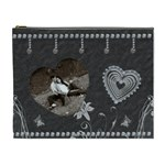 Diamond Heart XL Cosmetic Bag - Cosmetic Bag (XL)