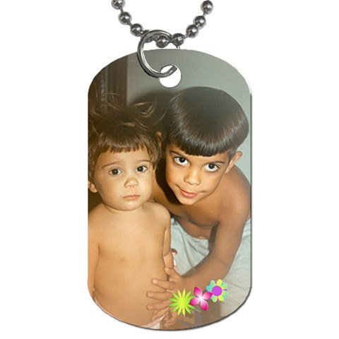 Ni?os By Lydia   Dog Tag (one Side)   B5ju1w62i4j3   Www Artscow Com Front