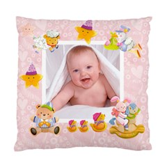 Blankie Bunny Baby Girl Double Sided Cushion By Catvinnat   Standard Cushion Case (two Sides)   Ab6rclhglmyf   Www Artscow Com Front