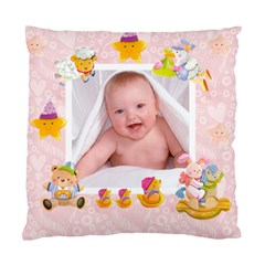 Blankie Bunny Baby Girl Double Sided Cushion By Catvinnat   Standard Cushion Case (two Sides)   Ab6rclhglmyf   Www Artscow Com Back