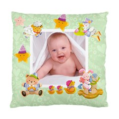 Blankie Bunny Pistachio  Baby Double Sided Cushion By Catvinnat   Standard Cushion Case (two Sides)   3xbea34zf6c9   Www Artscow Com Front