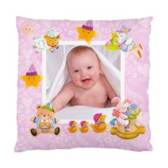 Blankie Bunny Lavendar Love Baby Double Sided Cushion By Catvinnat   Standard Cushion Case (two Sides)   F12ap4so9ek1   Www Artscow Com Front