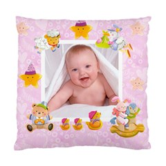 Blankie Bunny Lavendar Love Baby Double Sided Cushion By Catvinnat   Standard Cushion Case (two Sides)   F12ap4so9ek1   Www Artscow Com Back