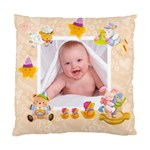Blankie Bunnypeach melba Baby Double sided cushion - Cushion Case (Two Sides)