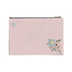 Cosmetic Bag (large)    Flowers 5 By Jennyl   Cosmetic Bag (large)   U58efhx5ahj2   Www Artscow Com Back