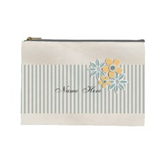 Cosmetic Bag (large)    Flowers6 By Jennyl   Cosmetic Bag (large)   2or9y23wbdr5   Www Artscow Com Front