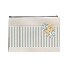 Cosmetic Bag (large)    Flowers6 By Jennyl   Cosmetic Bag (large)   2or9y23wbdr5   Www Artscow Com Back