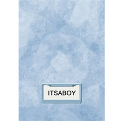 Baby Boy Arrival Card By Lil    Greeting Card 5  X 7    Ljnlrpxwqdiy   Www Artscow Com Back Cover