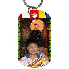 Jade Buddha   Philip By Phungm   Dog Tag (two Sides)   Dij8dabxhgel   Www Artscow Com Front