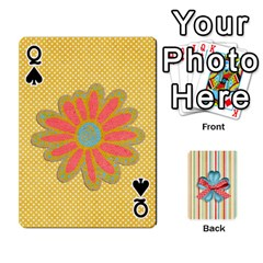 Queen Frolicandplay Cards By Sheena   Playing Cards 54 Designs   902c7x9ntq3u   Www Artscow Com Front - SpadeQ