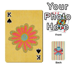 King Frolicandplay Cards By Sheena   Playing Cards 54 Designs   902c7x9ntq3u   Www Artscow Com Front - SpadeK