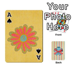 Ace Frolicandplay Cards By Sheena   Playing Cards 54 Designs   902c7x9ntq3u   Www Artscow Com Front - SpadeA