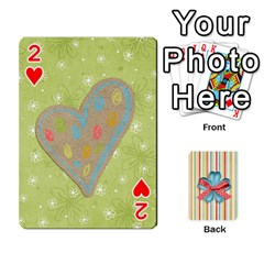 Frolicandplay Cards By Sheena   Playing Cards 54 Designs   902c7x9ntq3u   Www Artscow Com Front - Heart2
