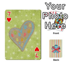 Frolicandplay Cards By Sheena   Playing Cards 54 Designs   902c7x9ntq3u   Www Artscow Com Front - Heart7