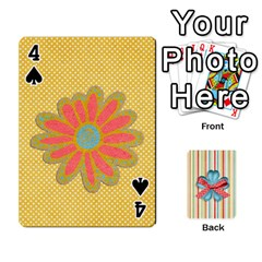 Frolicandplay Cards By Sheena   Playing Cards 54 Designs   902c7x9ntq3u   Www Artscow Com Front - Spade4
