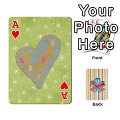Ace Frolicandplay Cards By Sheena   Playing Cards 54 Designs   902c7x9ntq3u   Www Artscow Com Front - HeartA