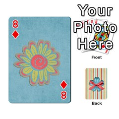 Frolicandplay Cards By Sheena   Playing Cards 54 Designs   902c7x9ntq3u   Www Artscow Com Front - Diamond8