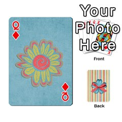 Queen Frolicandplay Cards By Sheena   Playing Cards 54 Designs   902c7x9ntq3u   Www Artscow Com Front - DiamondQ