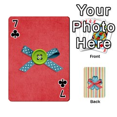 Frolicandplay Cards By Sheena   Playing Cards 54 Designs   902c7x9ntq3u   Www Artscow Com Front - Club7