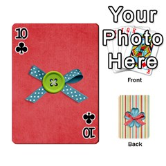 Frolicandplay Cards By Sheena   Playing Cards 54 Designs   902c7x9ntq3u   Www Artscow Com Front - Club10