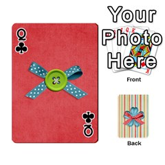 Queen Frolicandplay Cards By Sheena   Playing Cards 54 Designs   902c7x9ntq3u   Www Artscow Com Front - ClubQ