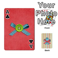 Ace Frolicandplay Cards By Sheena   Playing Cards 54 Designs   902c7x9ntq3u   Www Artscow Com Front - ClubA