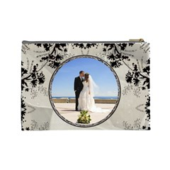 Wedding Memories Large Cosmetic Bag By Lil    Cosmetic Bag (large)   56dycw9zmtvh   Www Artscow Com Back