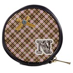monogrammed bag N - Mini Makeup Bag