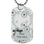 Simple Simon Circles Dog Tag - Dog Tag (One Side)