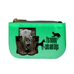 Cats and dogs - Mino coin purse - Mini Coin Purse