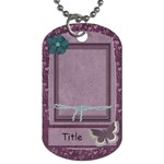 Colors of March Dog Tag - Dog Tag (One Side)