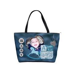 Baby Boy Shoulder Bag By Lil    Classic Shoulder Handbag   L0s1s412f1sp   Www Artscow Com Front