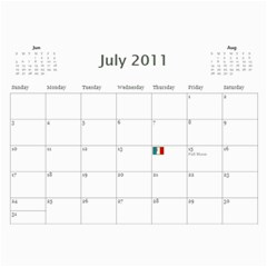 2011/07 2012/12 General By Cure   Wall Calendar 11  X 8 5  (18 Months)   5zwk0uf2d5bb   Www Artscow Com Jul 2011