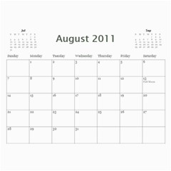 2011/07 2012/12 General By Cure   Wall Calendar 11  X 8 5  (18 Months)   5zwk0uf2d5bb   Www Artscow Com Aug 2011