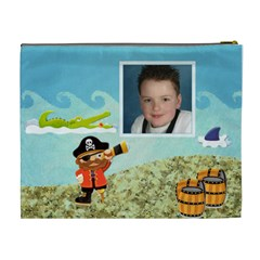 Pirate Pete Cosmetic Bag Extra Large By Catvinnat   Cosmetic Bag (xl)   Am2f3xed0llc   Www Artscow Com Back